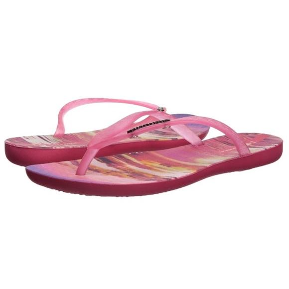148772b1d1bd Ipanema Pink Sunset Sandals